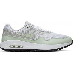Nike Air Max 1 G Golf Shoes 2020 - White/Neutral Grey/Black/Jade Aura