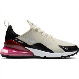 Nike Air Max 270 G Golf Shoes Light Bone/White/Black/Hot Punch