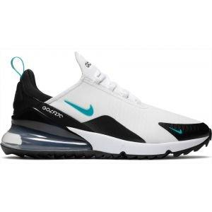 Nike Air Max 270 G Golf Shoes 2020 - White/Dusty Cactus/Black/Metallic Silver