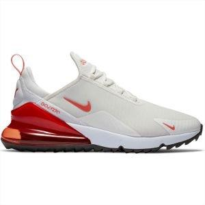 Nike Air Max 270 G Golf Shoes Sail/Ember/White/Newsprint 2020