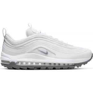 Nike Air Max 97 G Golf Shoes White/Metallic Cool Grey/White