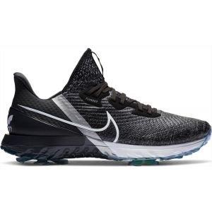 Nike Air Zoom Infinity Tour Golf Shoes Black/White/Noir/Metallic Platinum