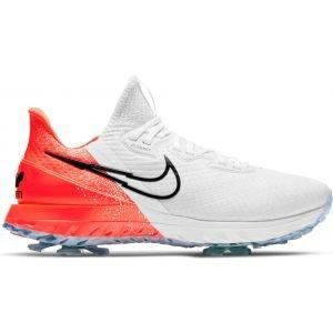 Nike Air Zoom Infinity Tour Golf Shoes White/Infrared 23/Volt/Black