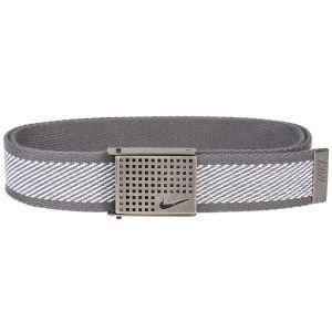 Nike Golf Diagonal Web With Cutout Buckle Belt