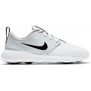 Nike Junior Roshe G Golf Shoes - White/Black/Pure Platinum