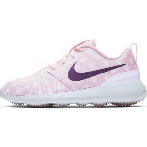 Nike Junior Roshe G Golf Shoes Echo Pink/White/Gridiron