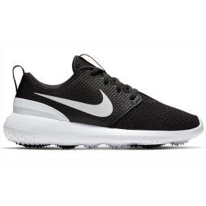 Nike Junior Roshe G Golf Shoes Black/White