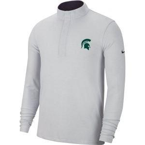Nike Michigan State Spartans Dri-FIT Victory 1/2 Zip Golf Pullover Top