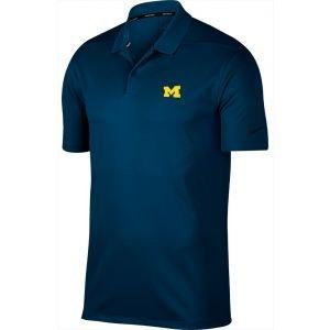 Nike Golf University Of Michigan Wolverines Victory Polo