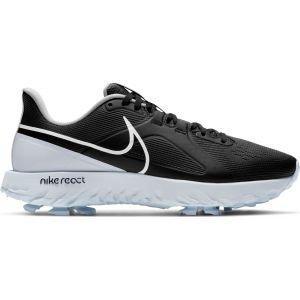 Nike React Infinity Pro Golf Shoes Black/White/Metallic Platinum
