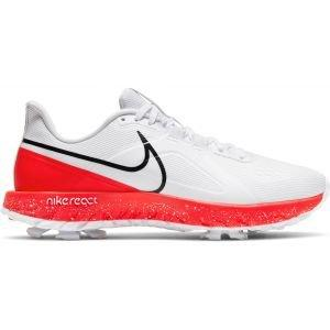Nike React Infinity Pro Golf Shoes 2021 - White/Infrared 23/Black