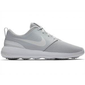 Nike Roshe G Golf Shoes Platinum/White