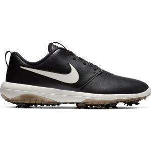 Nike Roshe G Tour Golf Shoes 2019 - Black/White Contrast Swoosh