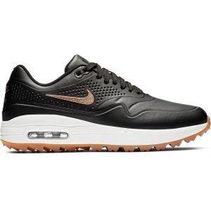 Nike Womens Air Max 1 G Golf Shoes 2019 Black/Bronze/White