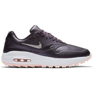 Nike Womens Air Max 1 G Golf Shoes 2019 Gridiron/Pink/White/Silver