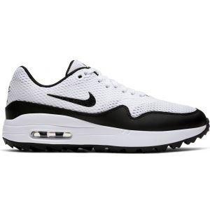 Nike Womens Air Max 1 G Golf Shoes 2020 - White/Black