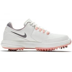 Nike Womens Air Zoom Accurate Golf Shoes White/Grey/Pink
