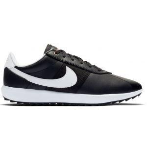 Nike Womens Cortez G Spikeless Golf Shoes - Black/Gold/White