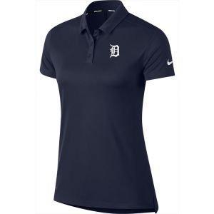 Nike Golf Womens Detroit Tigers Dri-Fit Polo