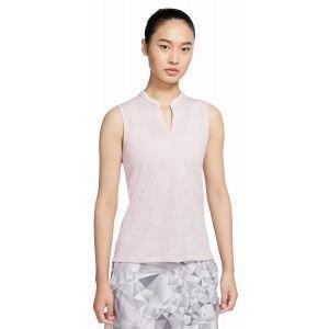 Nike Womens Fairway Sleeveless Golf Polo