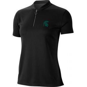 Nike Womens Michigan State Spartans Dri-FIT Golf Polo Shirt