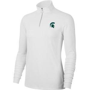 Nike Womens Michigan State Spartans Dri-FIT UV Victory Golf Pullover