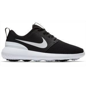 Nike Womens Roshe G Golf Shoes Black/White