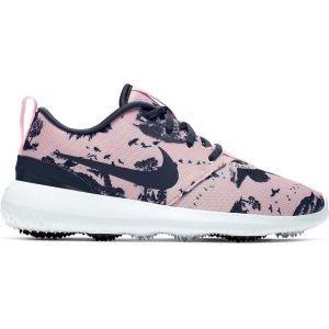 Nike Womens Roshe G Golf Shoes Echo Pink/Gridiron/White