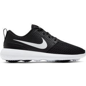 Nike Womens Roshe G Golf Shoes Black/Metallic White/White 2020