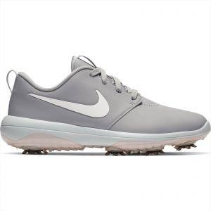 Nike Womens Roshe G Tour Golf Shoes Wolf Grey/Metallic White/White