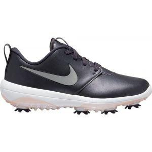 Nike Womens Roshe G Tour Golf Shoes Gridiron/Reflect Silver/Pink