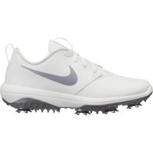 Nike Womens Roshe G Tour Golf Shoes Summit White/Metallic Cool Grey