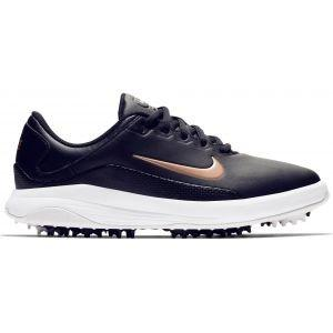 Nike Womens Vapor Spikeless Golf Shoes Black/White/Grey/Bronze