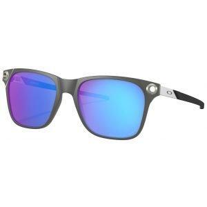 Oakley Apparition Satin Black Ink Sunglasses Sapphire Iridium Polarized