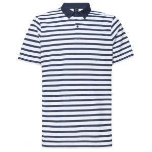 Oakley Bicolor Striped Golf Polo