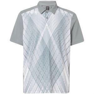 Oakley Cross Graphic Golf Polo Shirt On Sale