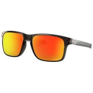 Oakley Holbrook Mix Grey Smoke Sunglasses Prizm Ruby Polarized Lens