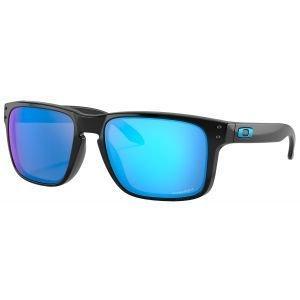 Oakley Holbrook Polished Black Sunglasses Prizm Sapphire Lens