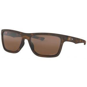 Oakley Holston Matte Brown Tortoise Sunglasses - Prizm Tungsten Lens