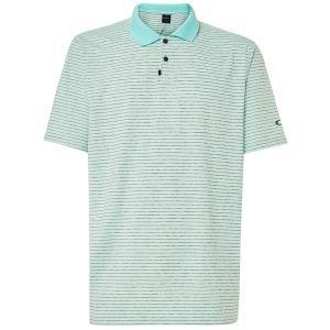 Oakley Jacquard Stripe Golf Polo