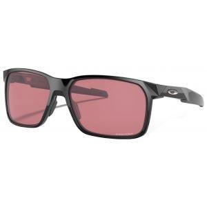 Oakley Portal X Polished Black Sunglasses Prizm Dark Golf Lens