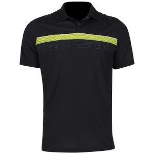 Oakley Print Layer Stripe Golf Polo
