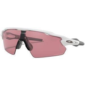 Oakley Radar EV Pitch Polished White Sunglasses Prizm Dark Golf Lens