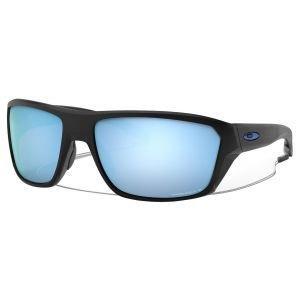 Oakley Split Shot Matte Black Sunglasses Prizm Deep Water Polarized Lens