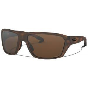 Oakley Split Shot Matte Tortoise Sunglasses Prizm Tungsten Polarized Lenses