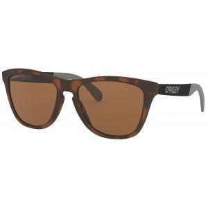 Oakley Womens Frogskins Mix Matte Brown Tortoise Sunglasses Prizm Tungsten Polarized Lenses