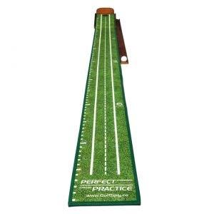 Perfect Practice Perfect Putting Mat Compact Size