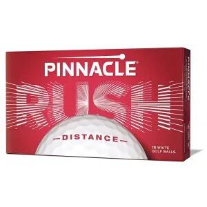 Pinnacle Rush Distance White Golf Balls 15-Pack