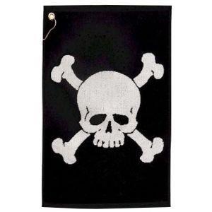 Player Supreme Skull & Bones Golf Towel