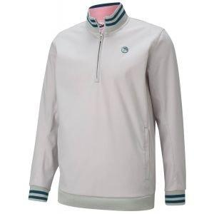 Puma AP Handshake 1/4 Zip Golf Pullover Arnold Palmer Collection